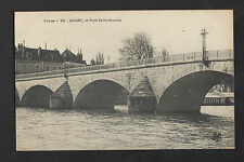 "JOIGNY (89) VILLAS & COMMERCE ""BELLOT / Mécanicien & Vélocipede"" début 1900"