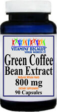 Green Coffee Bean Extract 800 Mg 90 Capsules