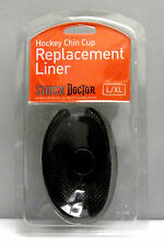 Shock Doctor ice hockey chin cup replacement liner Large/Xlarge guard x-static