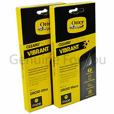 OtterBox Anti Scratch Clearly Screen Protector for Motorola DROID ULTRA & MAXX