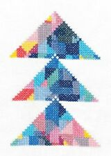 DMC Geometry Rules Triangulation Printed Embroidery Kit