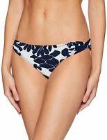 Trina Turk Womens Swimwear Blue Size 6 Shirred Hipster Bikini Bottom $68 819