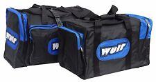 Wulfsport Motocross MX Enduro Trails ATV Heavy Duty Kit Bag Luggage Large Blue T