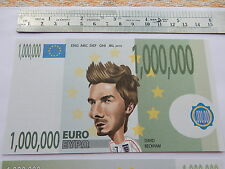 €1 Million Novelty Football Euro Banknote Soccer Bill Banknote Premier League NW