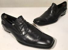"Robert Wayne ""Nathan"" Black Leather Loafers Men's Size 10.5 M D Nice!"