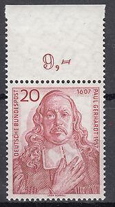BRD 1957 Mi. Nr. 253 mit Oberrand Postfrisch TOP!!! (27308)