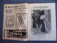 L'ILLUSTRATION 3435 - 26/11/1908 AEROPLANE SAINTE-SOPHIE CONSTANTINOPLE GWALIOR