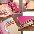 Fashion Pu Leather CellPhone Card Holder Coin Bag Long Purse Wallet Handbag Lady