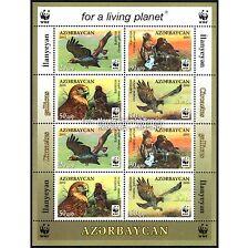 Aserbaidschan Azerbaijan WWF 2011, Schlangenadler, Kleinbogen I ** (postfrisch)