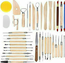 Caydo 38 Pieces Wooden Pottery Sculpting Clay Cleaning Tool - Same Day Dispatch
