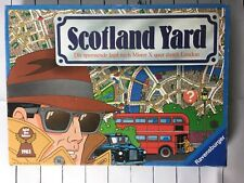 SCOTLAND YARD Protection for Mr X German Edition w/English Instructions COMPLETE