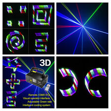 SUNY Stage DMX 3D Effects RGB Laser Red Green Blue Projector Disco Club Show