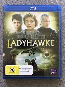 Blu Ray Disc - LADYHAWKE - Region B - RARE