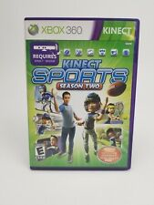 Kinect Sports: Season Two 2 (Xbox 360, 2011) Complete Free Shipping!