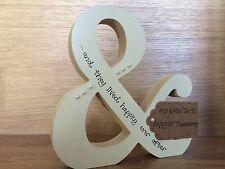Personalised 25th wedding anniversary gift - handmade wooden & symbol