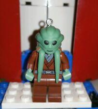 Lego Star Wars Kit Fisto Jedi Knight Key Chain Figure