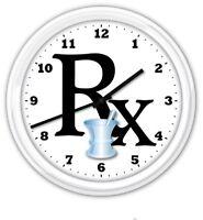 Pharmacy Prescription Drug Store RX Wall Clock - GREAT GIFT