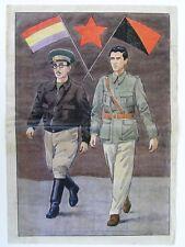 Original Art for a Spanish Civil War Propaganda Poster, 1936