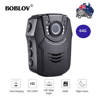 Police Body Worn Camera HD Recorder DVR Camcorder Security Mini Pocket Action