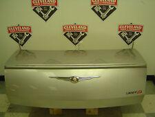 05-07 Chrysler 300 300C SRT-8 OEM Trunk Lid Lift Gate Silver w/ Spoiler