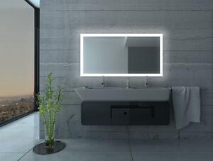 LED BAD SPIEGEL Badezimmerspiegel mit Beleuchtung Badspiegel Wandspiegel ASP40