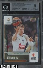2016-17 UD Turkish Airlines Euroleague Patterned Rainbow Luka Doncic RC BGS 9