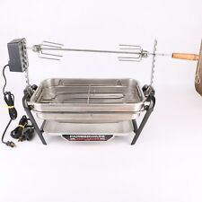 Faberware Open Hearth Electric Indoor Broiler Rotisserie BBQ Barbecue Grill Vtg