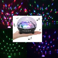 Lighting LED Crystal Magic Ball Projector Stage Show Light Club RGB Disco Party