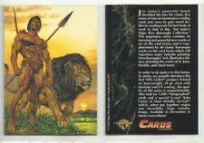 "1994 ADVANCED COMICS ""JOE JUSKOS TARZAN"" PROMO TRADING CARD - V/GOOD CONDITION"