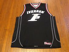 VTG Reebok Allen Iverson The Answer Black Red White Basketball Jersey sz 2XL