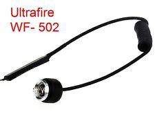 ULTRAFIRE WF- 502 Kabelschalter, Fernschalter,Taster für SUREFIRE® Taschenlampen