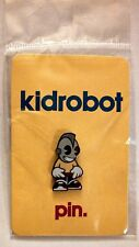 ®KidRobot ®Kid Robot Yellow Enamel Pin Shiny, Clean, Fresh! Sealed in Bag