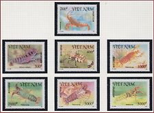 VIETNAM N°1197/1203** crustacés, 1991 Vietnam 2250-2256 Shrimps Lobsters MNH