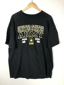 United States Army Athletic Department U.S.ARMY ATHL DEPT XL Black Men's T-Shirt