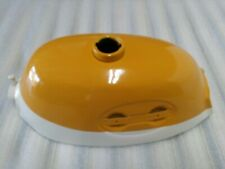 HONDA Z50A K2 1970 TO 1971 GAS TANK NEW REPRODUCTION YELLOW & WHITE (Y2)