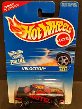 1995 Hot Wheels #471 : Velocitor 5 Spoke Rims - 16039