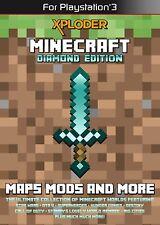 Xploder Minecraft Diamond Edition Cheating System für Playstation 3 NEU
