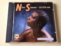 NINA SIMONE LET IT BE ME * RARE 1987 WEST GERMANY U.K. GOLD COLORED CD 1st PRESS