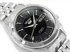 Seiko 5 Men's SNKL23J1 Stainless Steel Automatic Day Date Watch Made In Japan