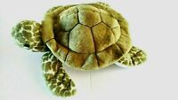 "Douglas Pebbles Green Sea Turtle Plush Stuffed Animal Realistic Cuddle Toy 9"""