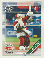 2019 Topps Bowman Holiday #TH-SC SANTA CLAUS QTY AVAILABLE