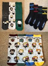 Harry Potter Women's Socks Primark Gryffindor Slytherin Hufflepuff Ravenclaw New