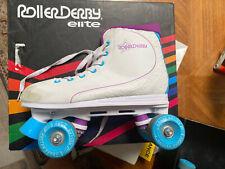Roller Derby Women'S Roller Star 600 Quad Skate, White/Lavender, 9