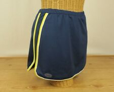 Bolle Sport Tennis/Golf Skirt W/Stretchy Shorts Navy Blue, Yellow & White Size S