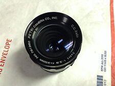 Petri CC Auto 35 f2.8 Lens