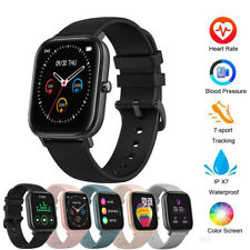 P8 Smart Watch IP67 Fitness Tracker Blood Pressure Heart Rate Monitor Smartwatch