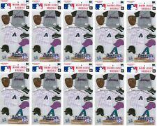Arizona Diamondbacks Uniform Stickers MLB Scrapbook licensed WHOLESALE LOT of 10