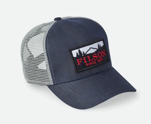 Filson Logger Mesh Back Navy Blue Cap Men's One Size 88208