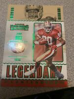 2020 Panini Contenders Legendary Contenders GREEN PARALLEL  Jerry Rice #LC-JRI,