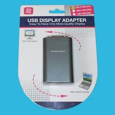USB 2.0 to VGA DVI Full HD 1080p Display Adapter